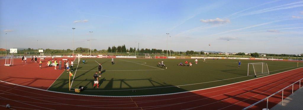 BG CUP Stadion Panorama